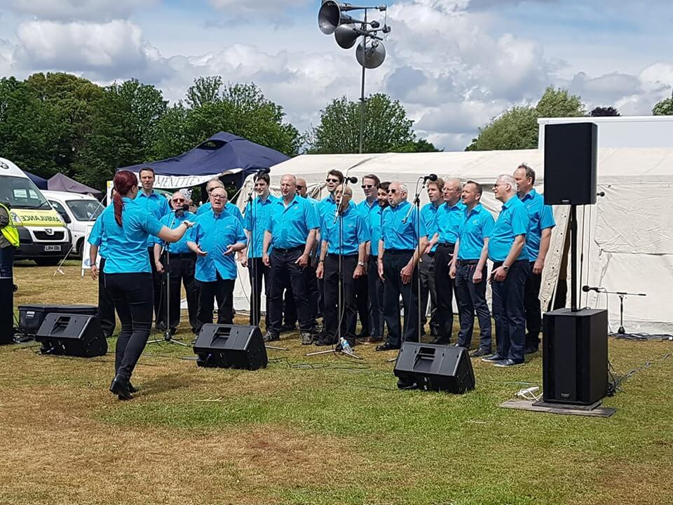 Capital Chorus at Ham fair June 2019