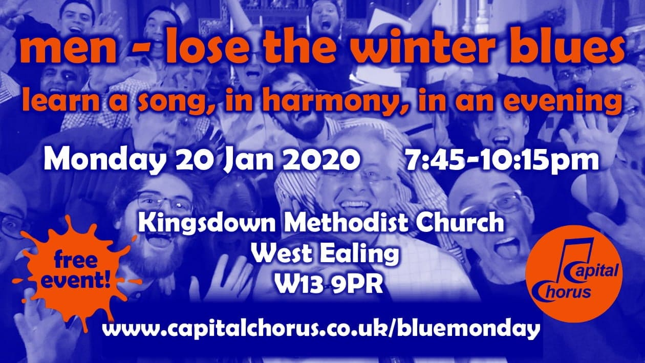 Join us and beat those Winter Blues