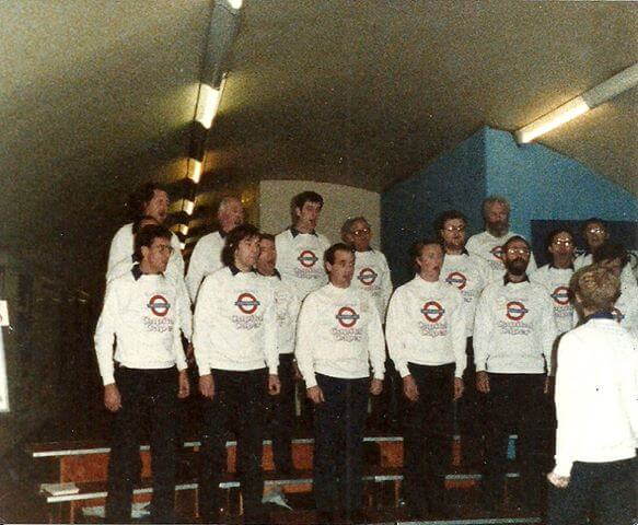 Capital Caper underground in 1986