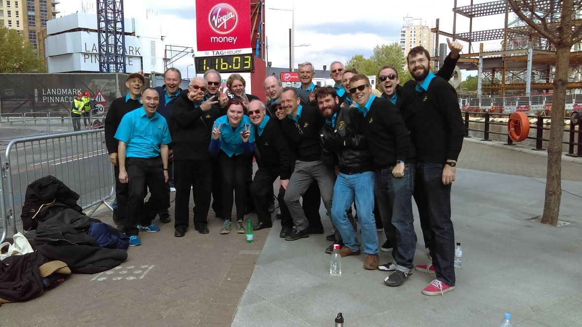 Capital Chorus At The London Marathon