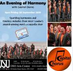 Come and enjoy An Evening of Harmony in Barnes with Capital Chorus